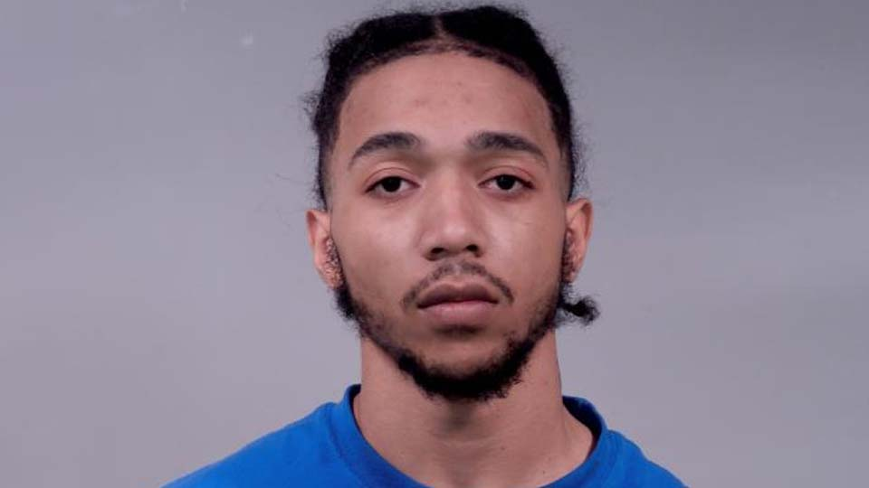 Derek Sanders, charged with felonious assault for a shooting in Liberty.