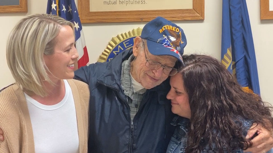 Chandra Brode and Jamie Nentwick were awarded Thursday evening at American Legion Post 290 in Columbiana after they helped save Edward C. Scott's life while he was in cardiac arrest April 14.