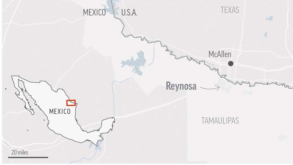 Fear shakes Mexico border city after violence leaves 18 dead