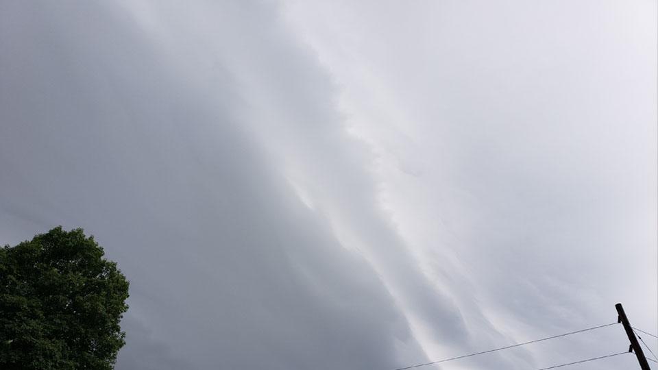 Austintown sky waves