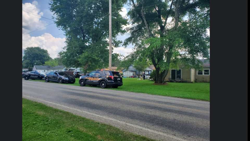 Newton Falls Police served a search warrant Wednesday afternoon, drugs and drug paraphernalia were taken from a house.