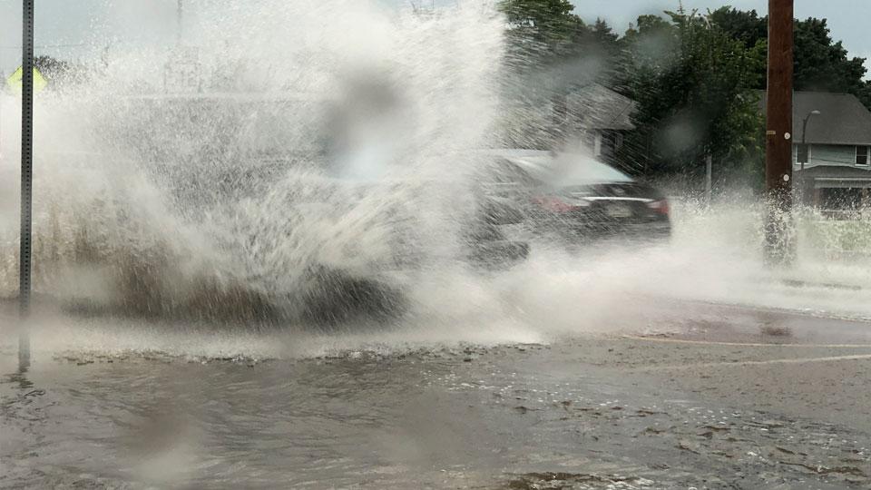 Sharon, PA flooding