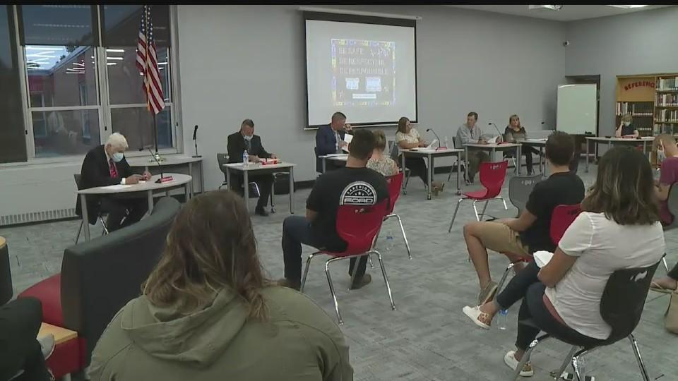 Salem school board meeting