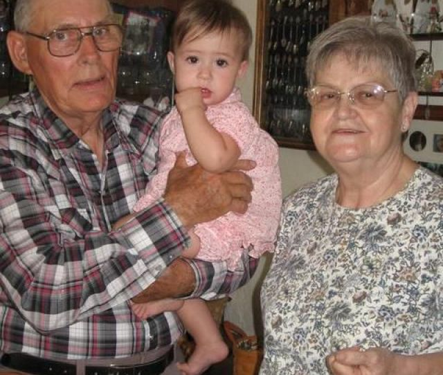 Proud Great Grandma And Pa With Latest Addition To The Jeralds Family