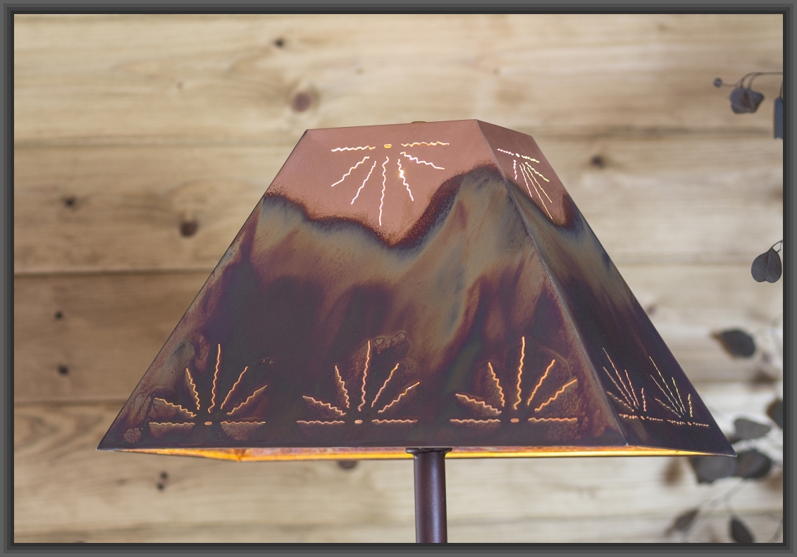 W Kohler Lamp Company Handcrafted Copper Lampshades