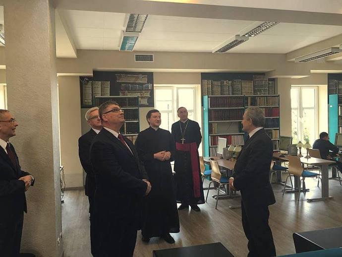 22.04.16-Obchody Chrztu Polski w Wyż. Seminarium Duchownym