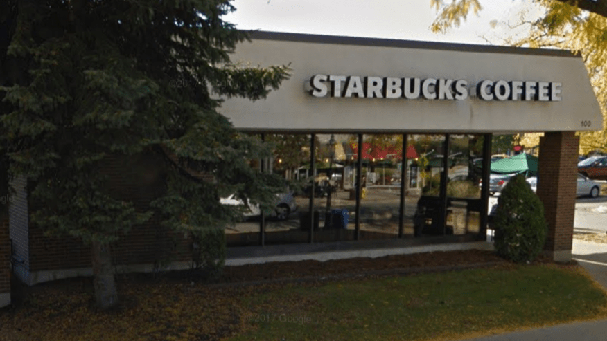 Two men got into an argument over an incorrect drink order at a Park Ridge, Ill. Starbucks on Sunday, June 19, 2017. One of the men was stabbed_366362