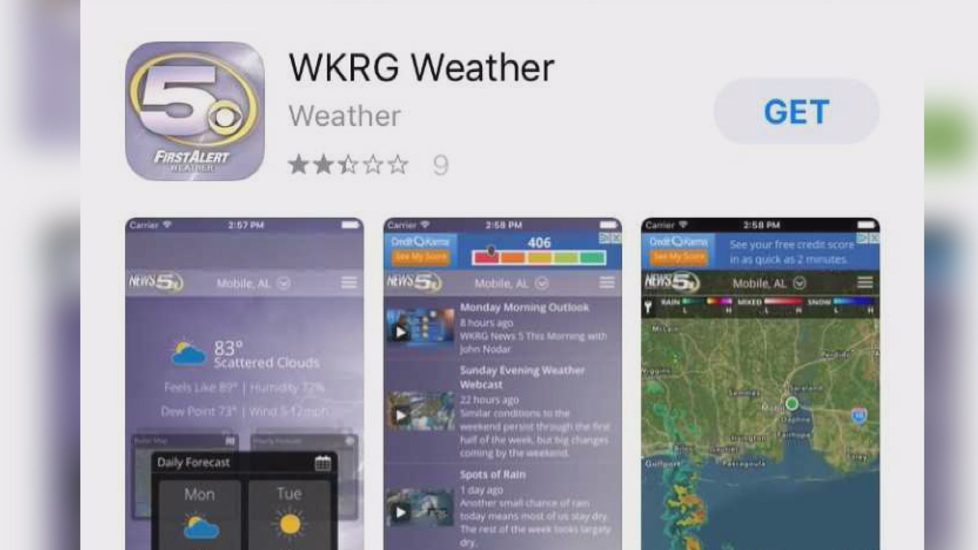 Download The Weather App – WKRG News 5