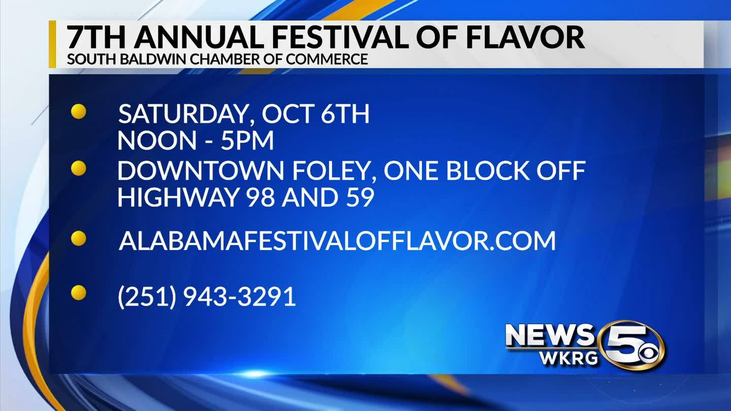Mark your Calendar - 2018 Festival of Flavor