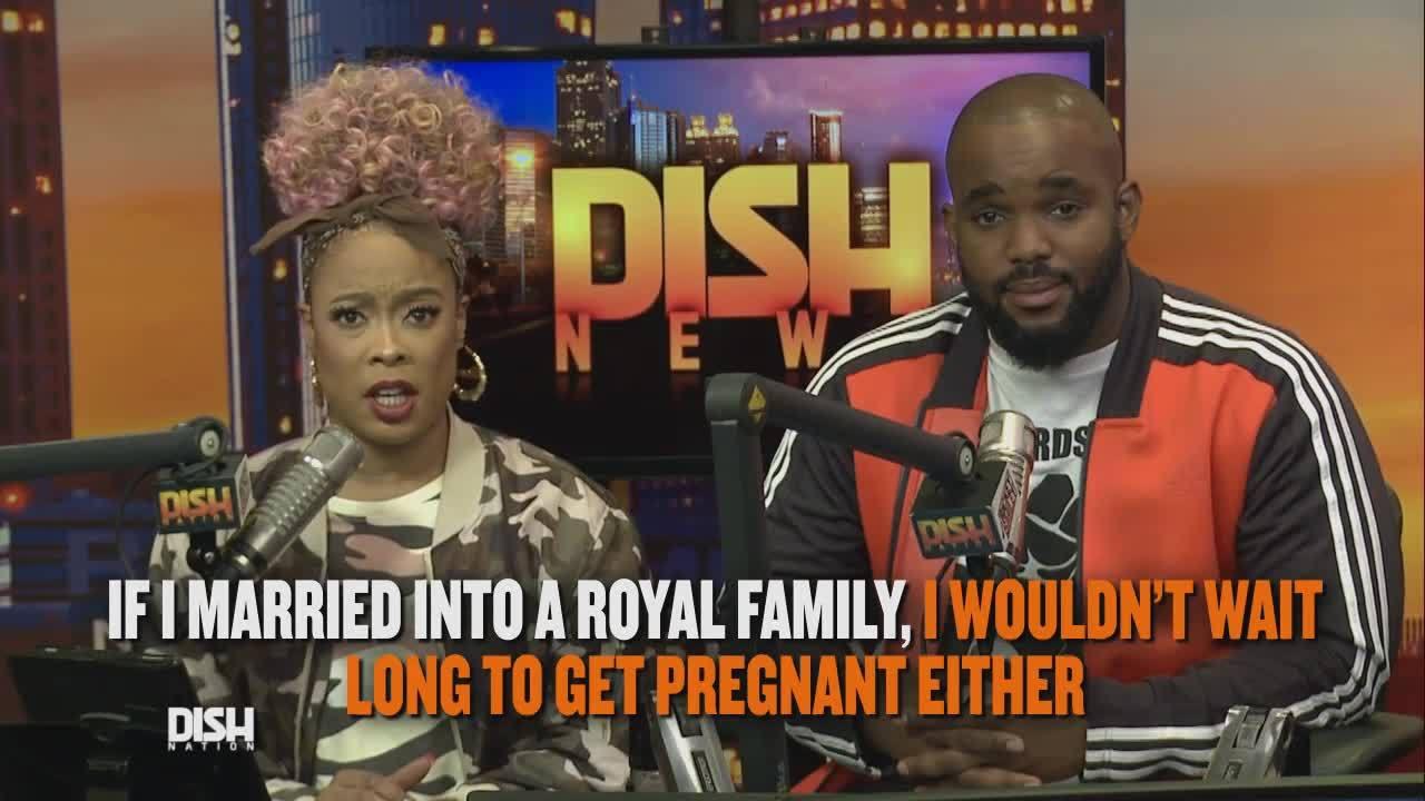 Dish Nation News Clip: Royal Couple Baby News