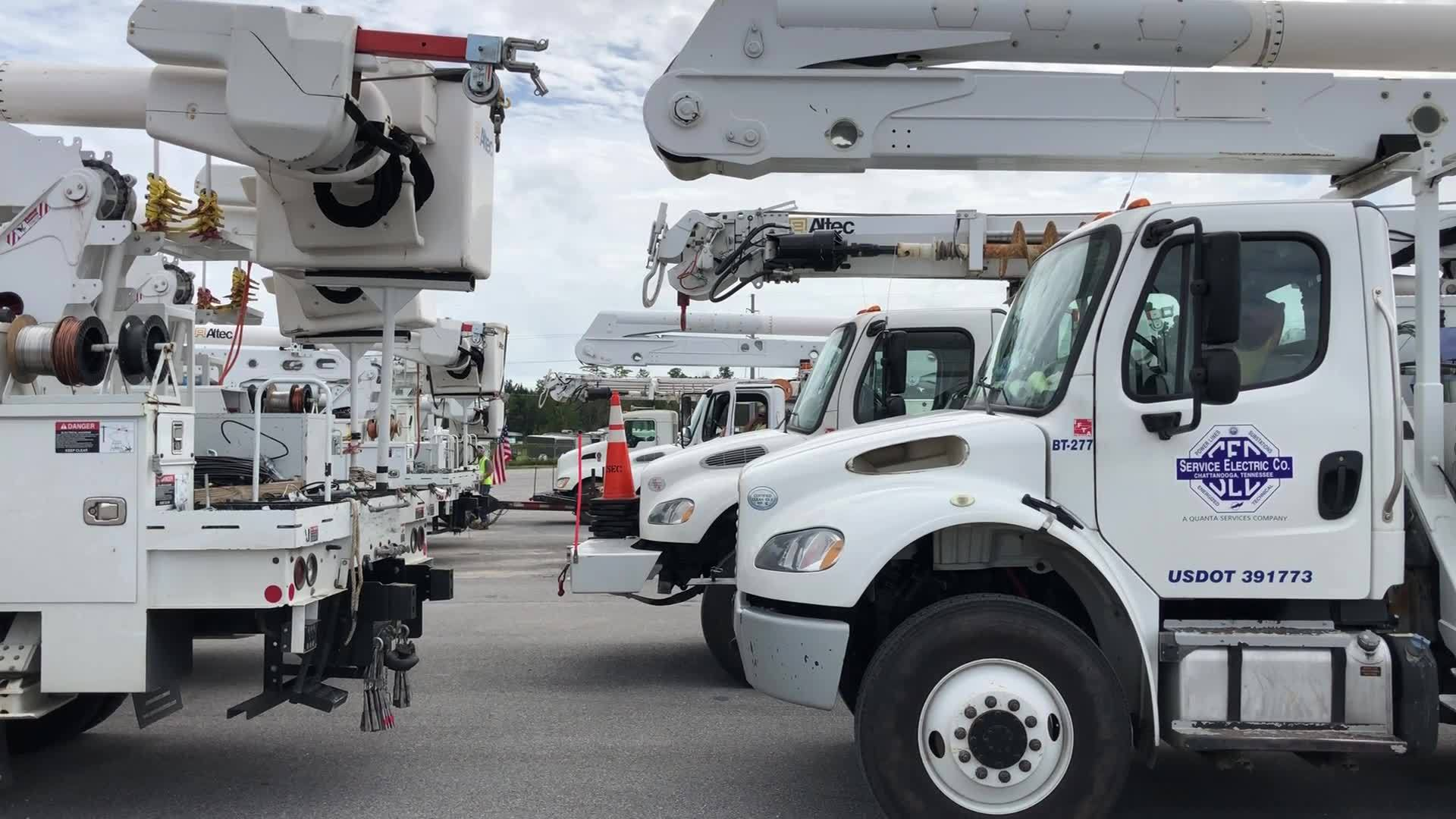 Gulf Power crews on standby to help after Michael