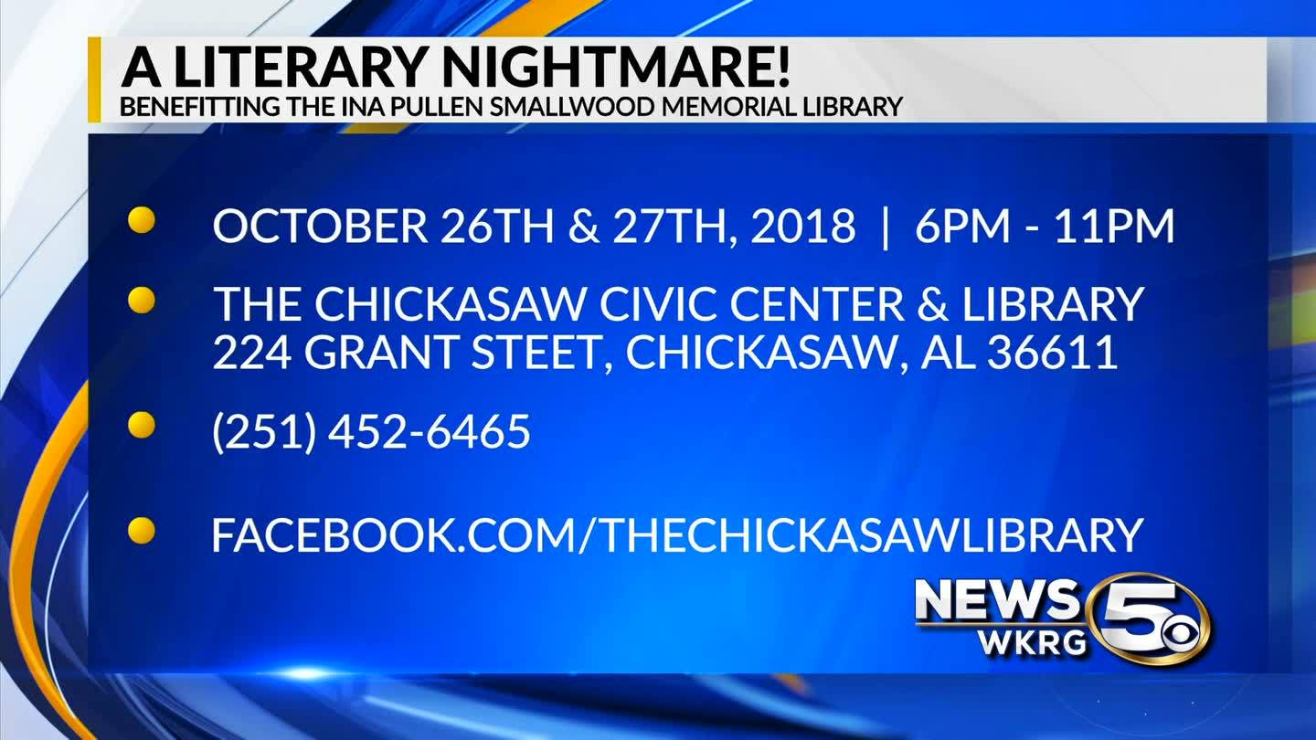 Mark Your Calendar - A Literary Nightmare!