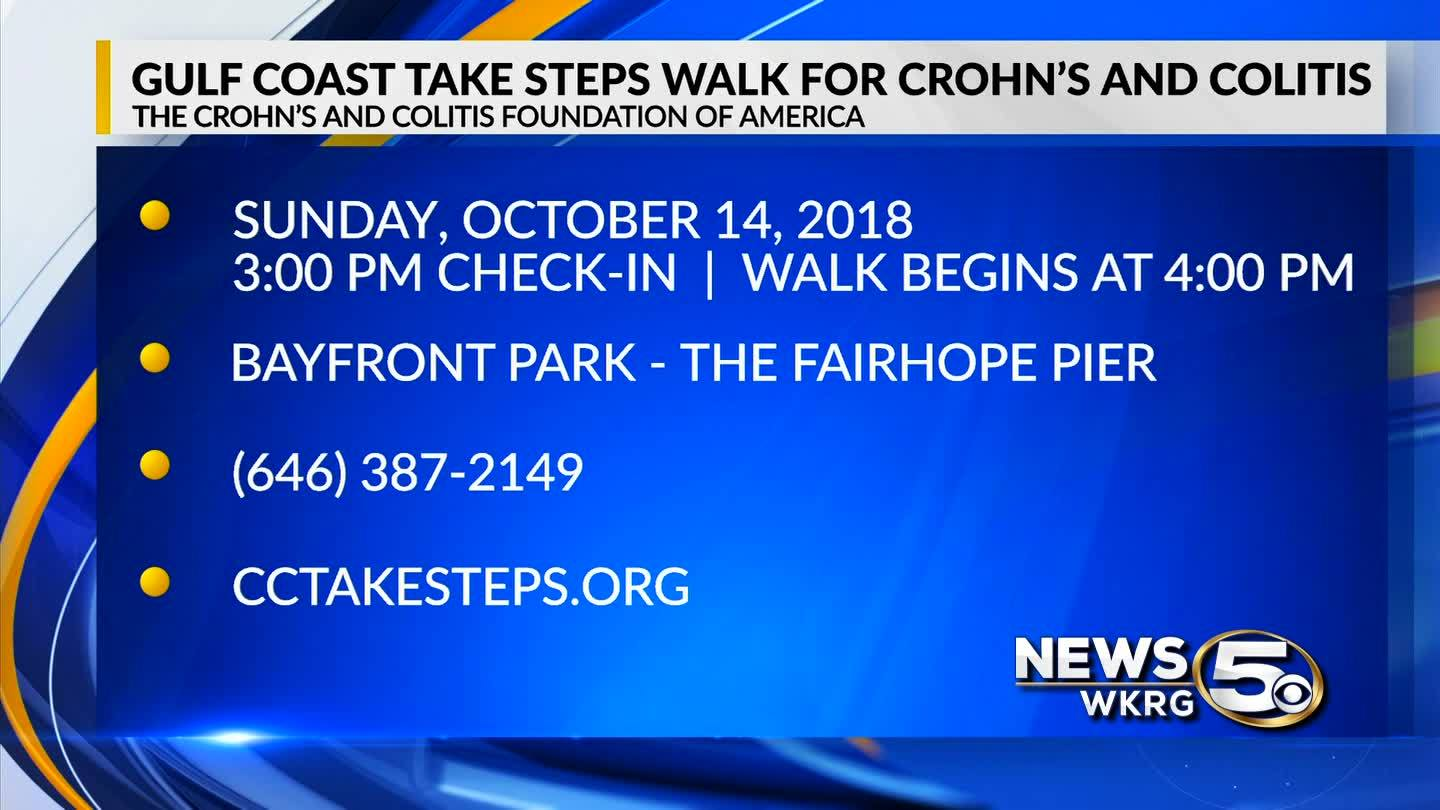 Mark Your Calendar - Take Steps Walk for Crohn's and Colitis