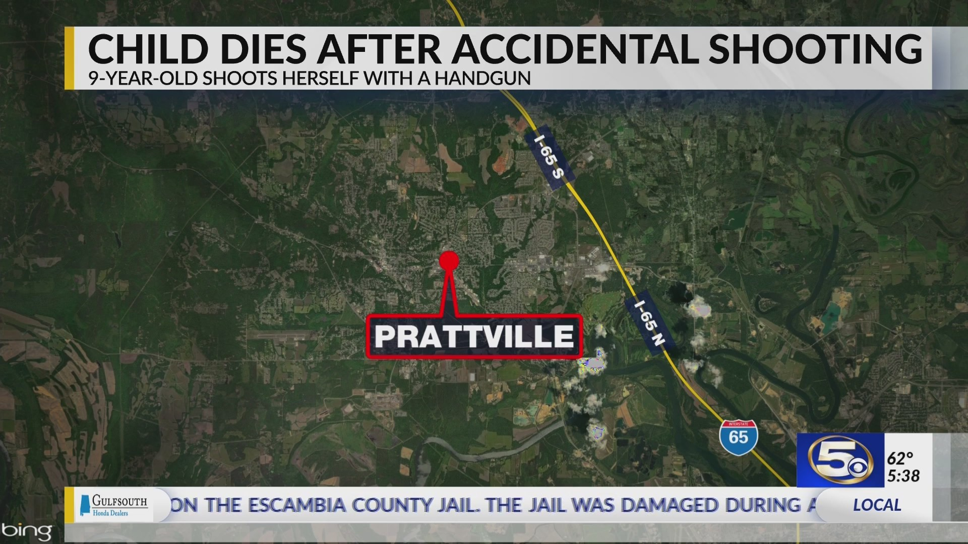 Child Dies After Accidental Shooting in Prattville