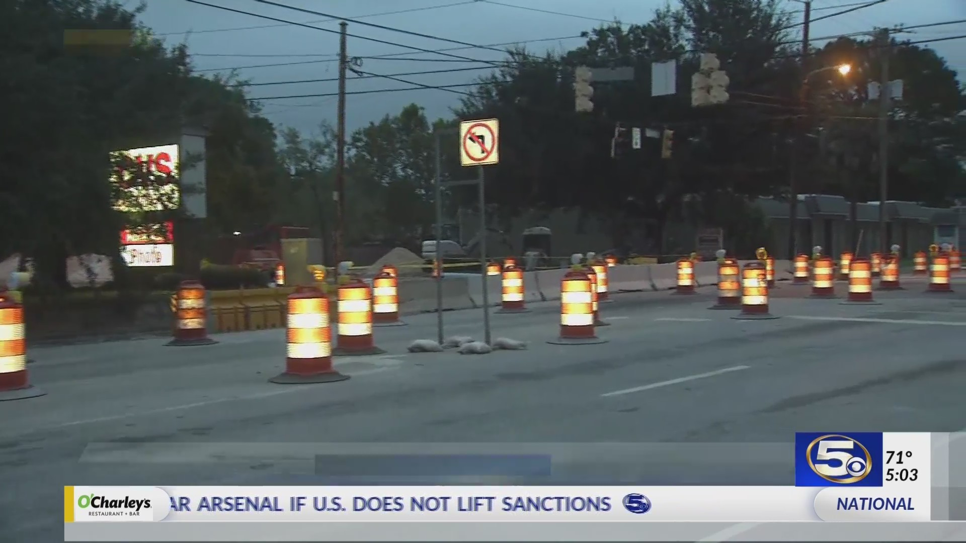 Dauphin Street re-opens all lanes after construction
