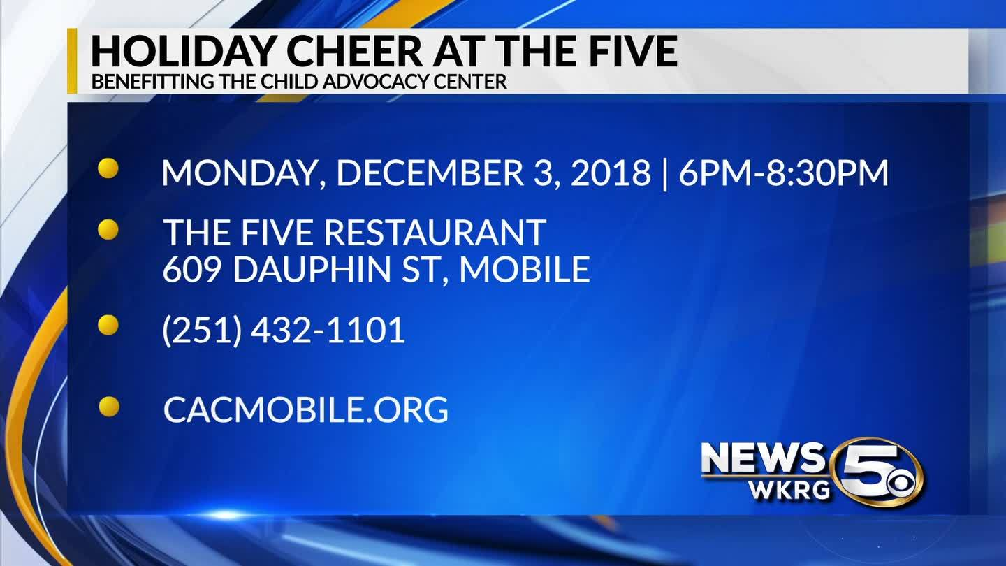 Mark Your Calendar - Holiday Cheer at the 5