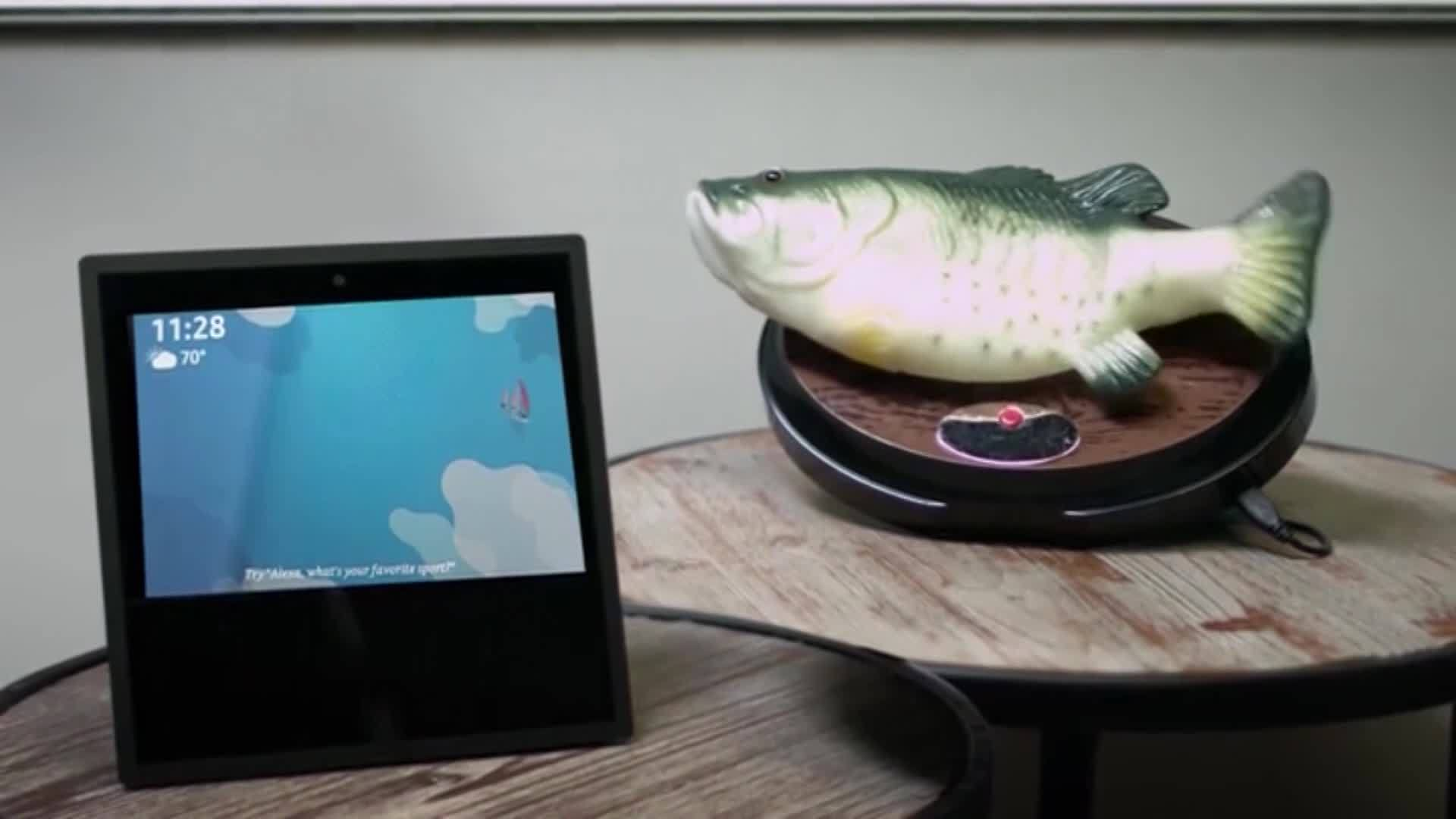 VIDEO: Big Mouth Billy Bass back on the market, can now connect to Alexa
