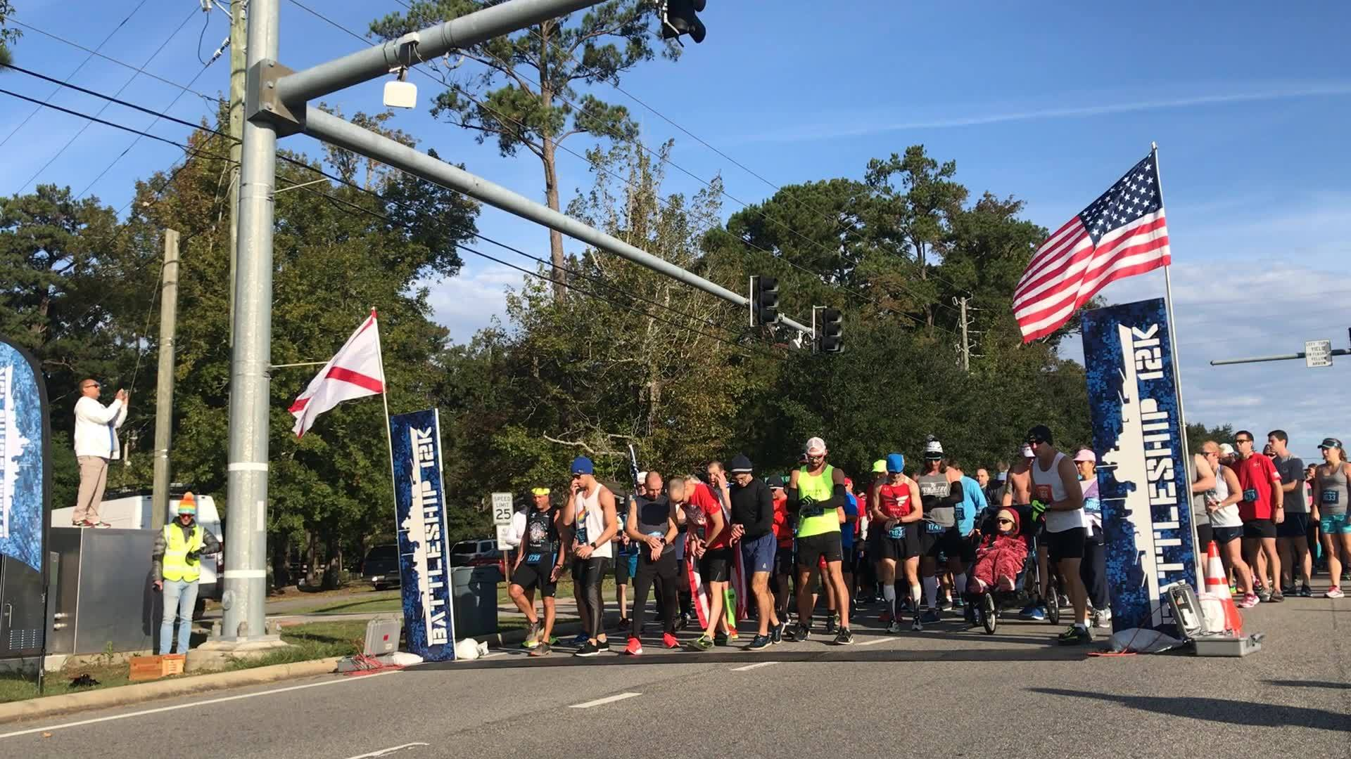 Veterans Day 12k run