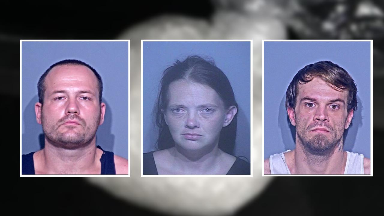 3 arrested in hotel meth bust in Foley