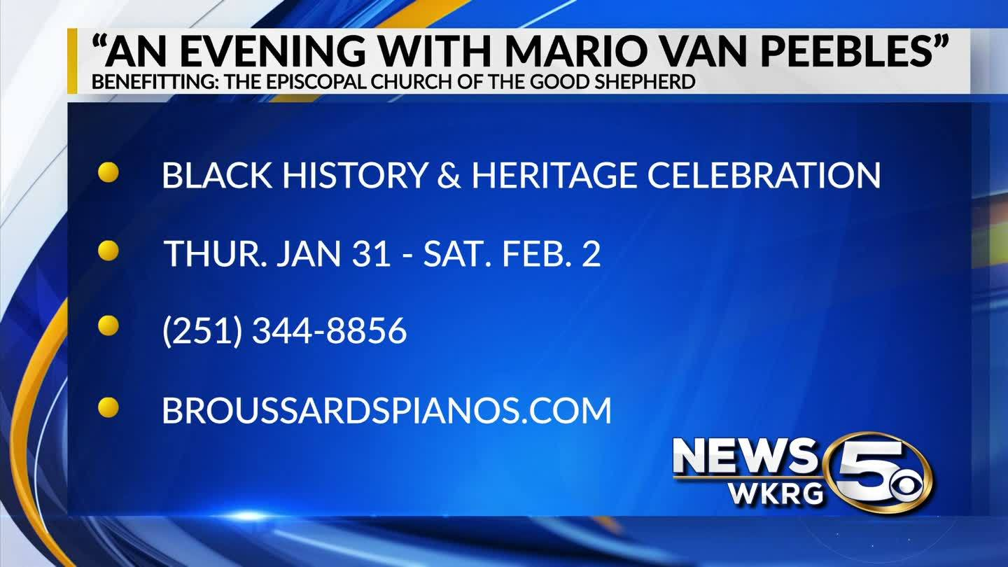 """An Evening with Mario Van Peebles"""