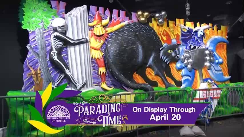 Mardi Gras: Parading Through Time Exhibition