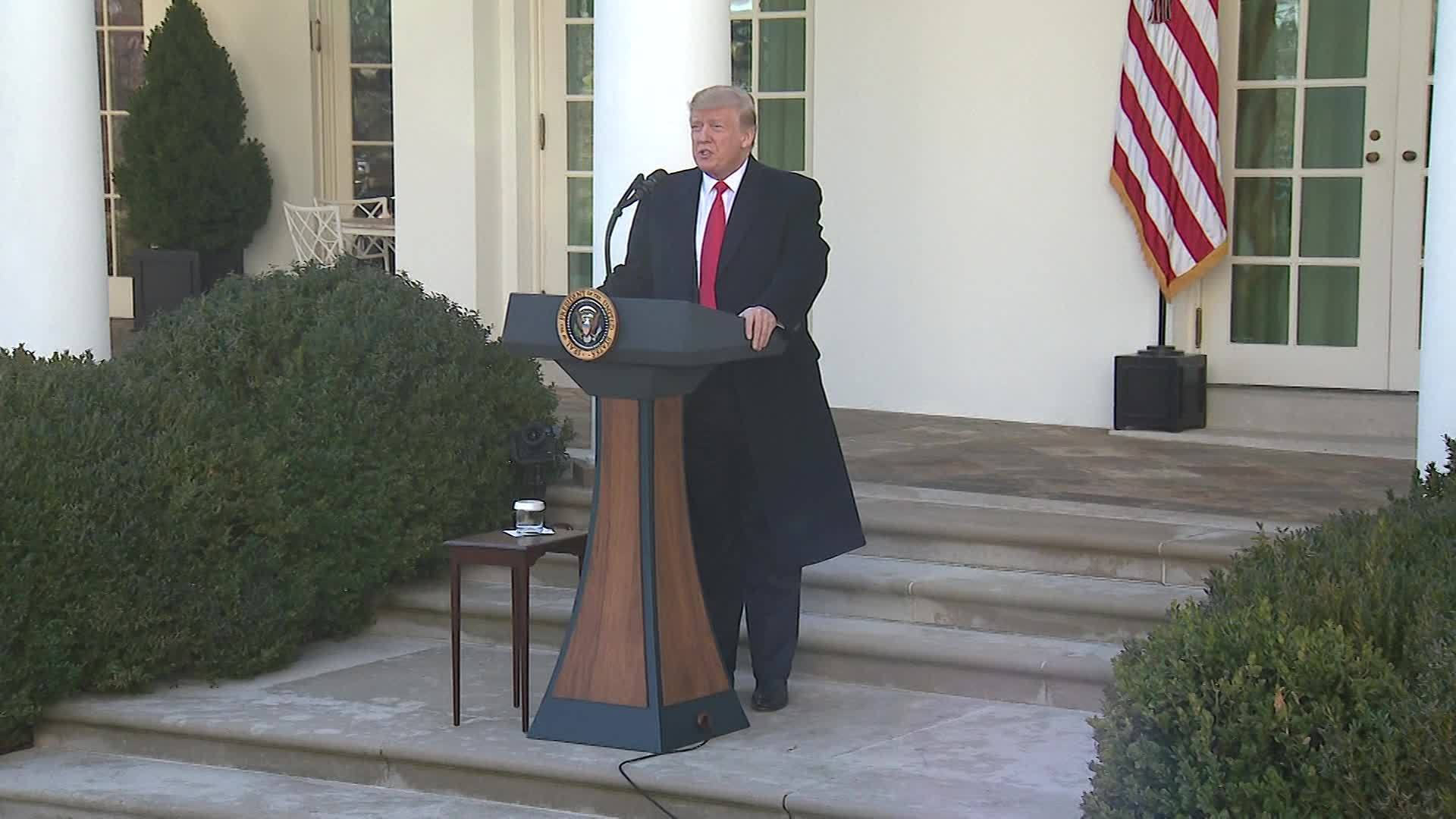 VIDEO: President Trump agrees to reopen Government temporarily