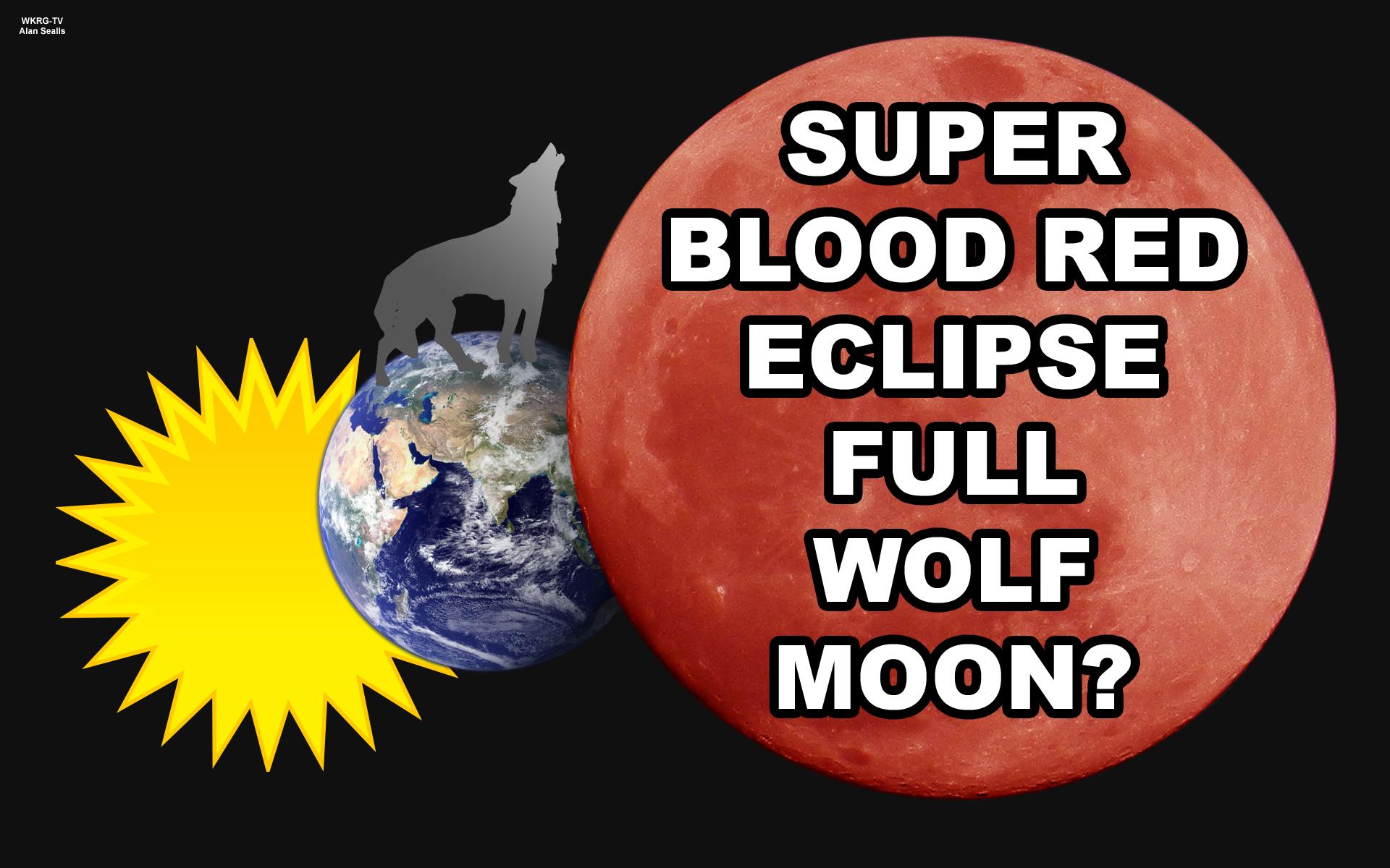 super blood wolf eclipse moon