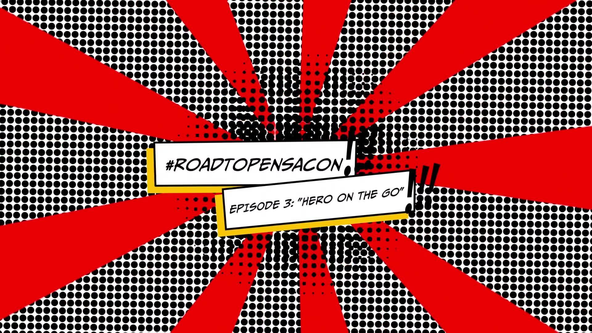 "Follow GCCW's #RoadToPensacon | Watch Episode 3: ""Hero on the Go"""