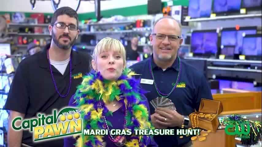 GCCW's Mardi Gras Treasure Hunt with Capital Pawn