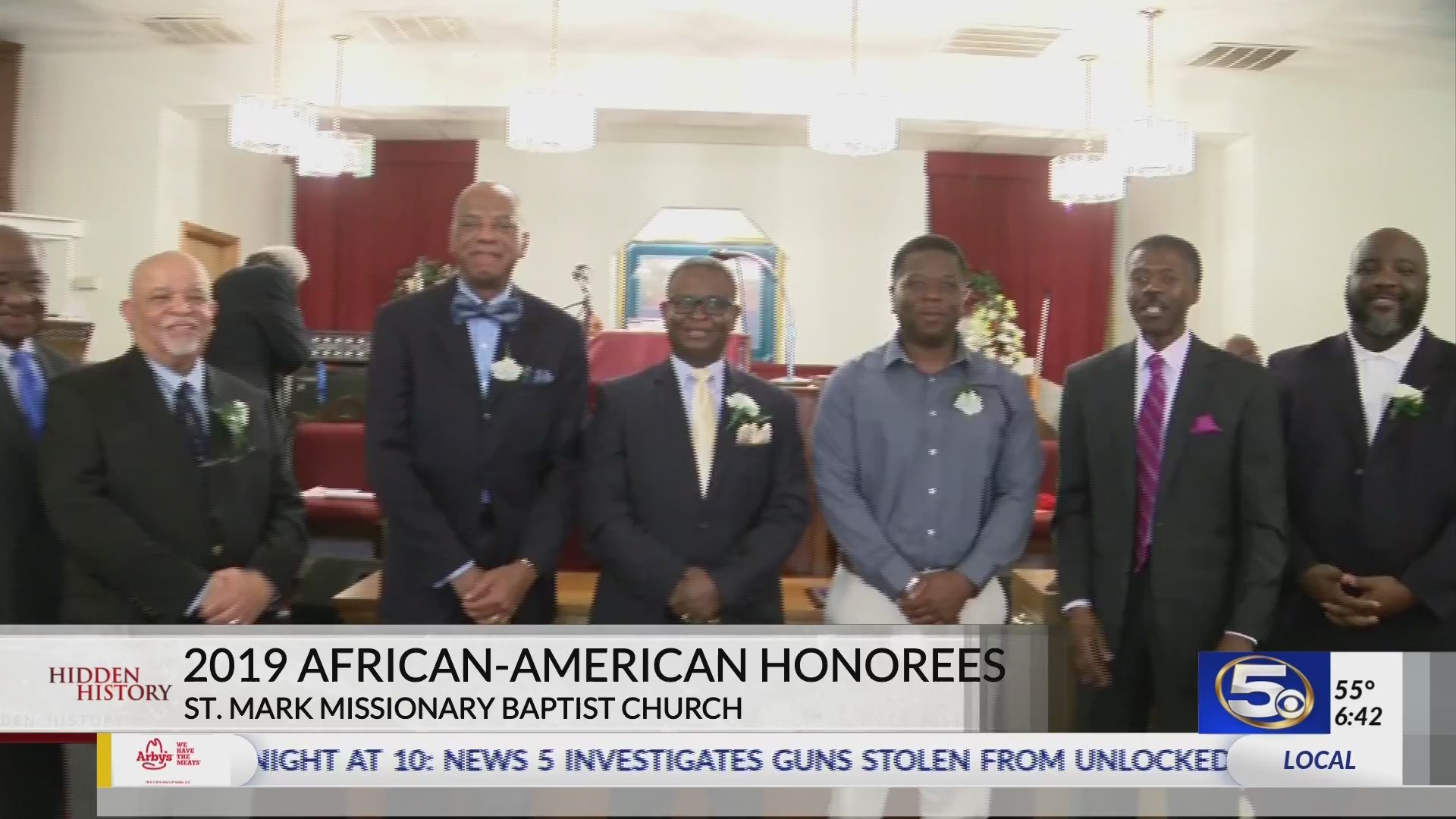 Mobile Honorees, Black History Month