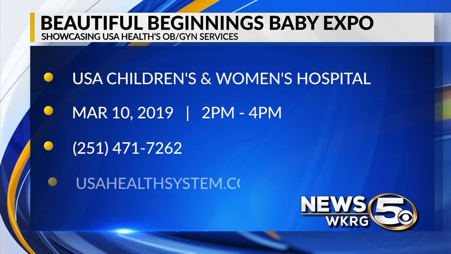 "Beautiful Beginnings Baby Expo - WKRG's ""Mark Your Calendar"""