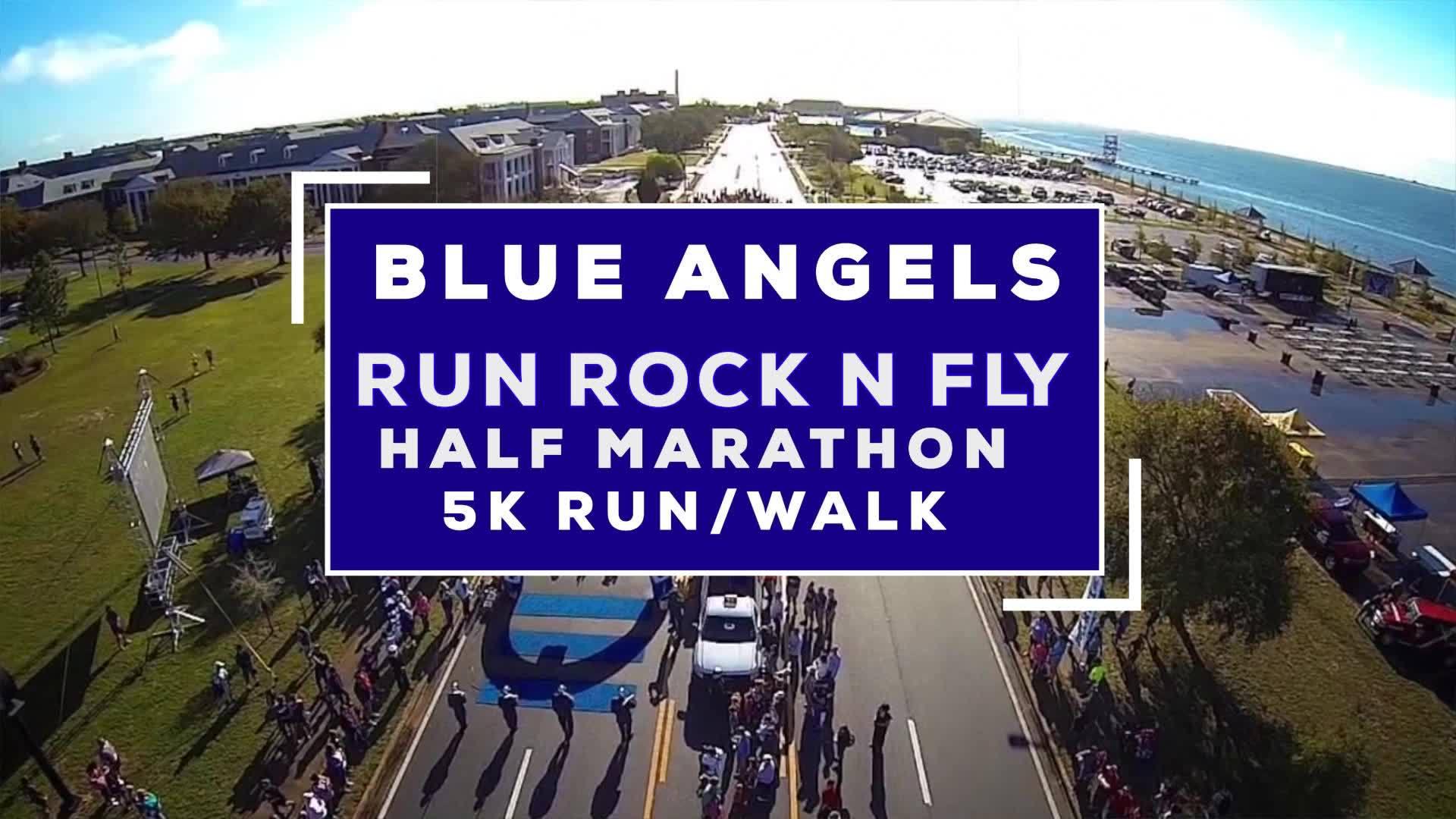 Blue Angels Rock 'N Fly 1/2 Marathon and 5K