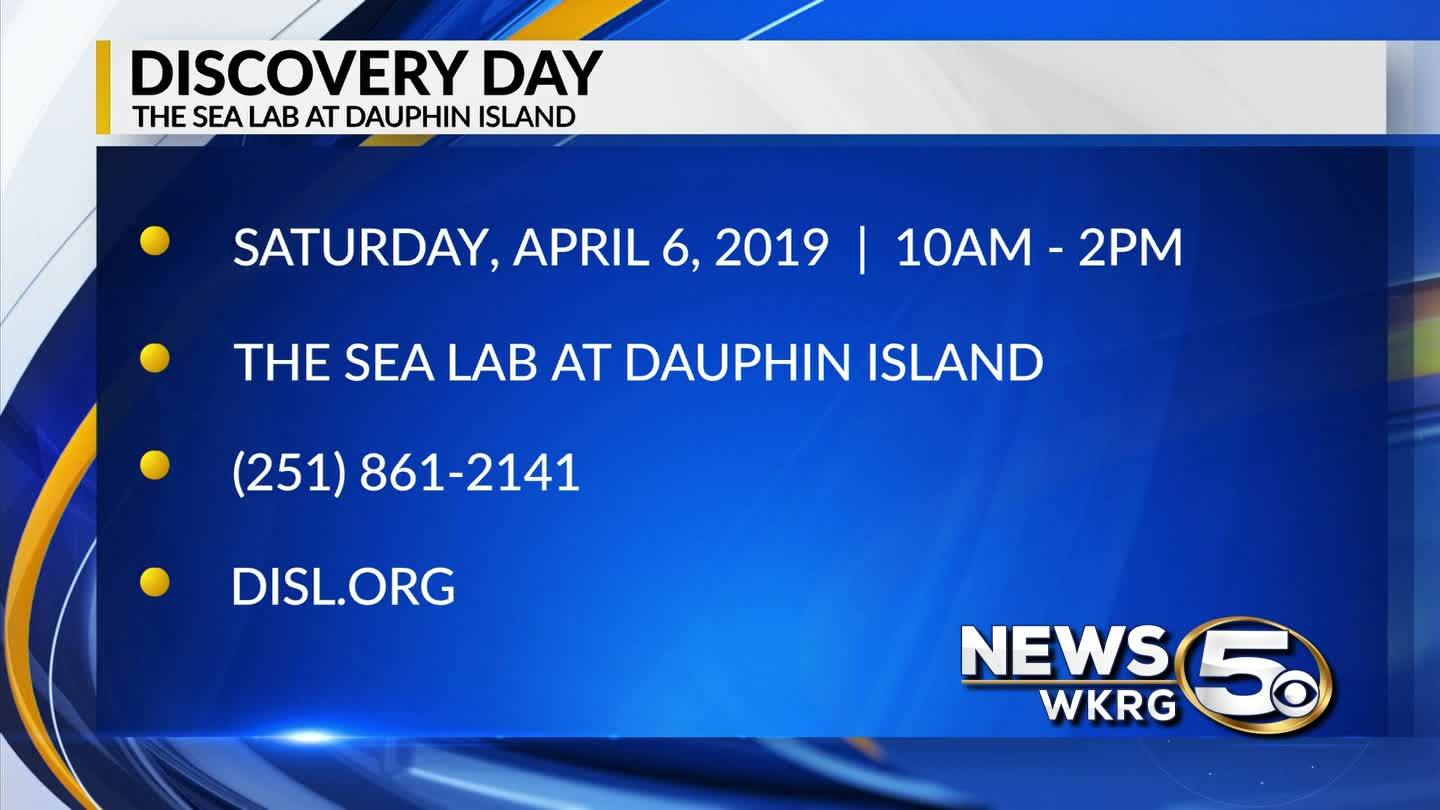 Discovery Day is April 6 at The Dauphin Island Sea Lab