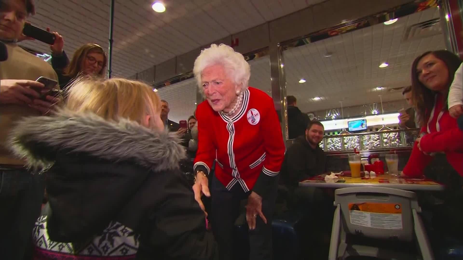 VIDEO: New book provides insights into Barbara Bush