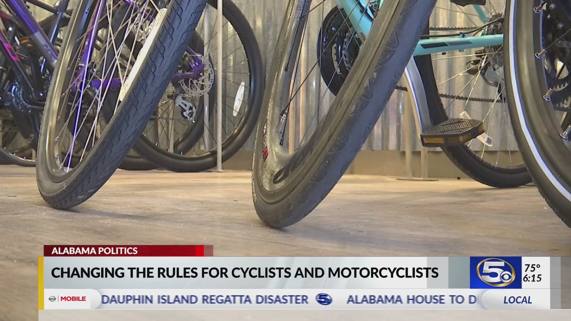 VIDEO: Bill would make changes to the road for cyclists