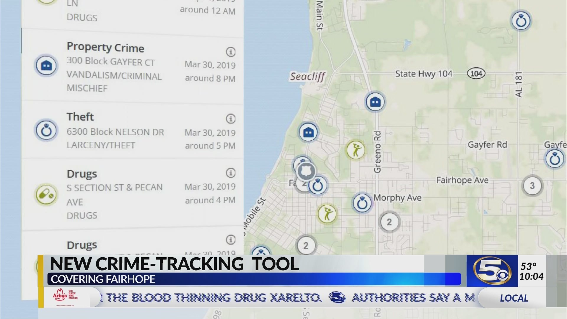 VIDEO: Fairhope becomes latest PD to join public crime database