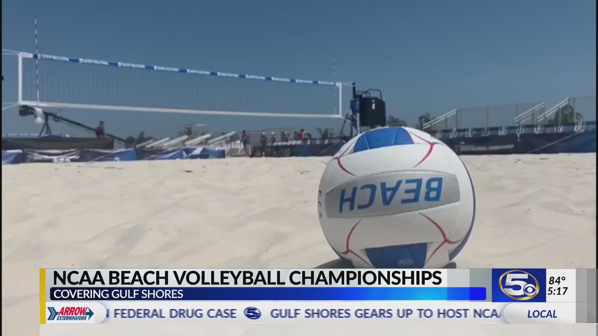 Gulf Shores gears up to host NCAA Beach Volleyball Tournament