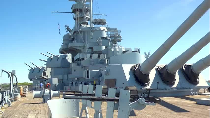Tori B. Visits USS ALABAMA   Living Local with Pepsi