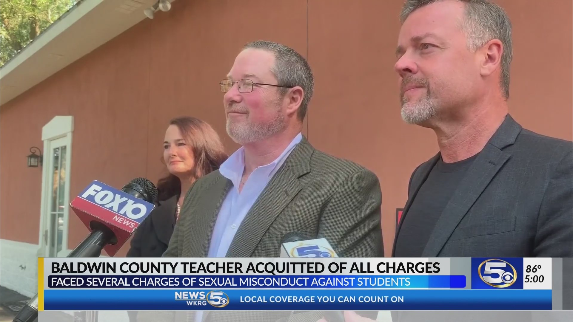 VIDEO: Baldwin County teacher found not guilty of sexual misconduct, wants to teach again