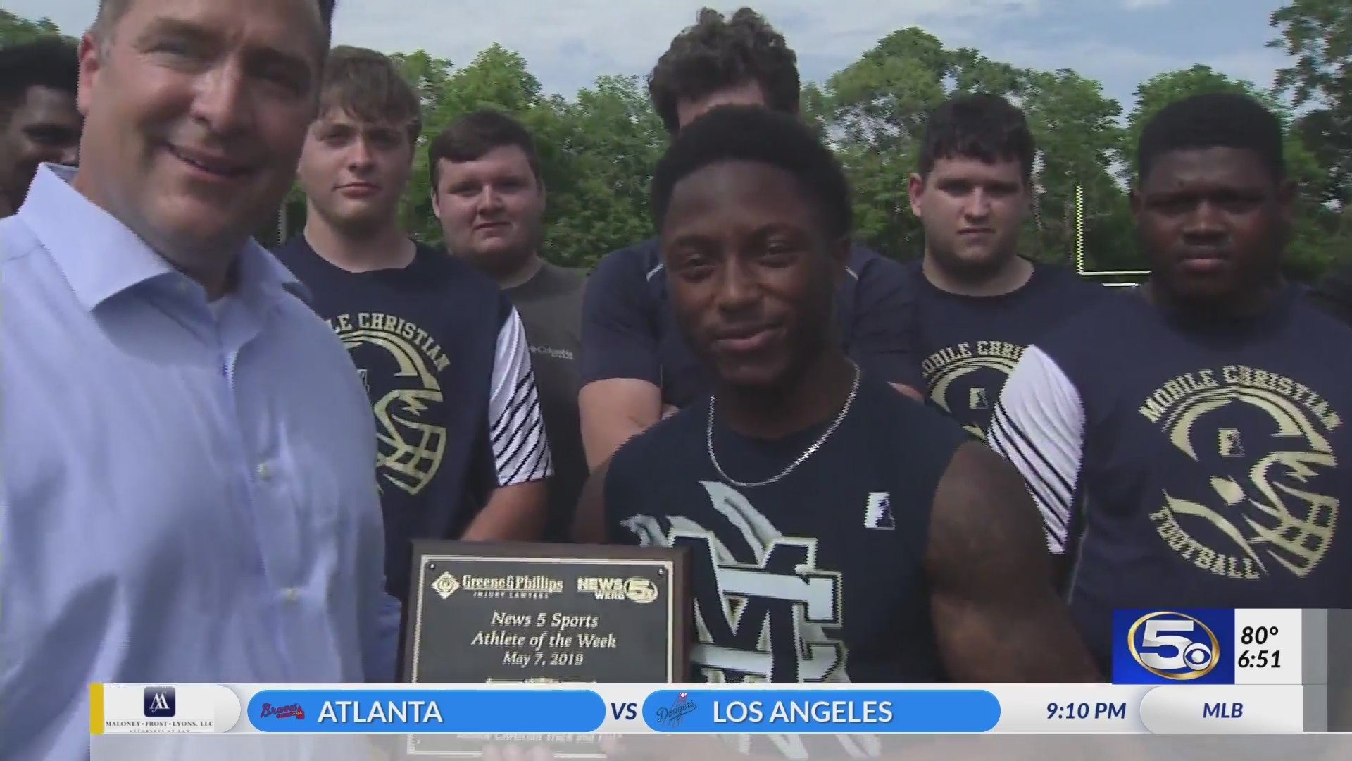 VIDEO: Leopards sprinter takes Athlete of the Week honors