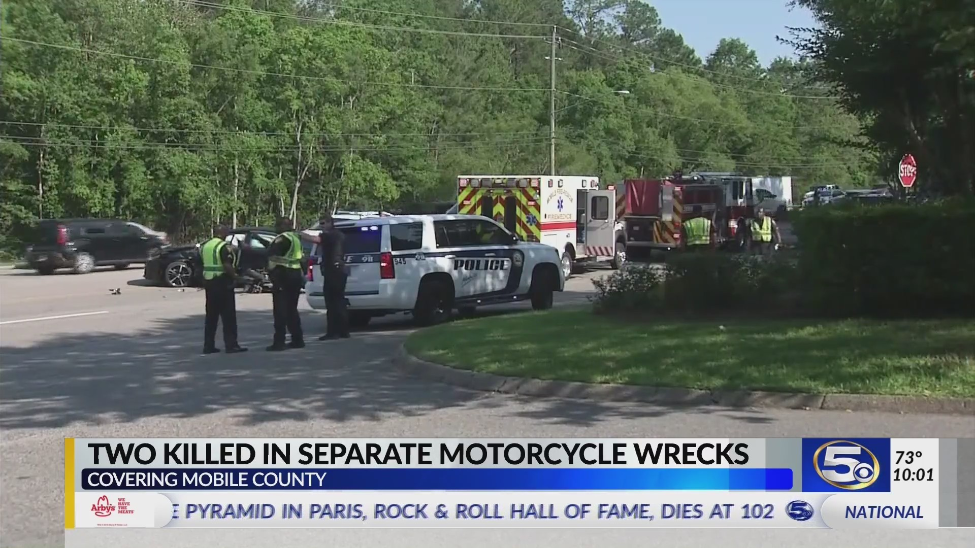 UPDATE: Motorcyclist dies in accident on Hillcrest Road