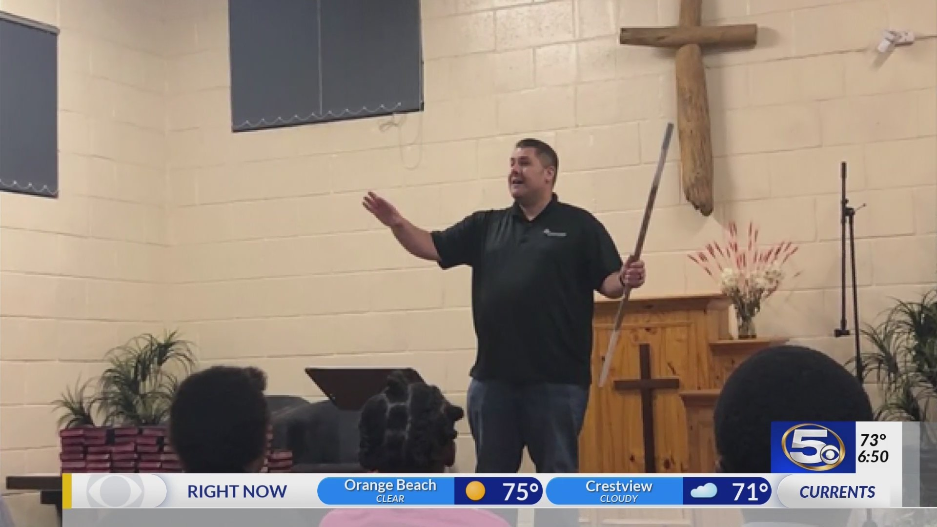 Faith Time:  Preaching in South Africa