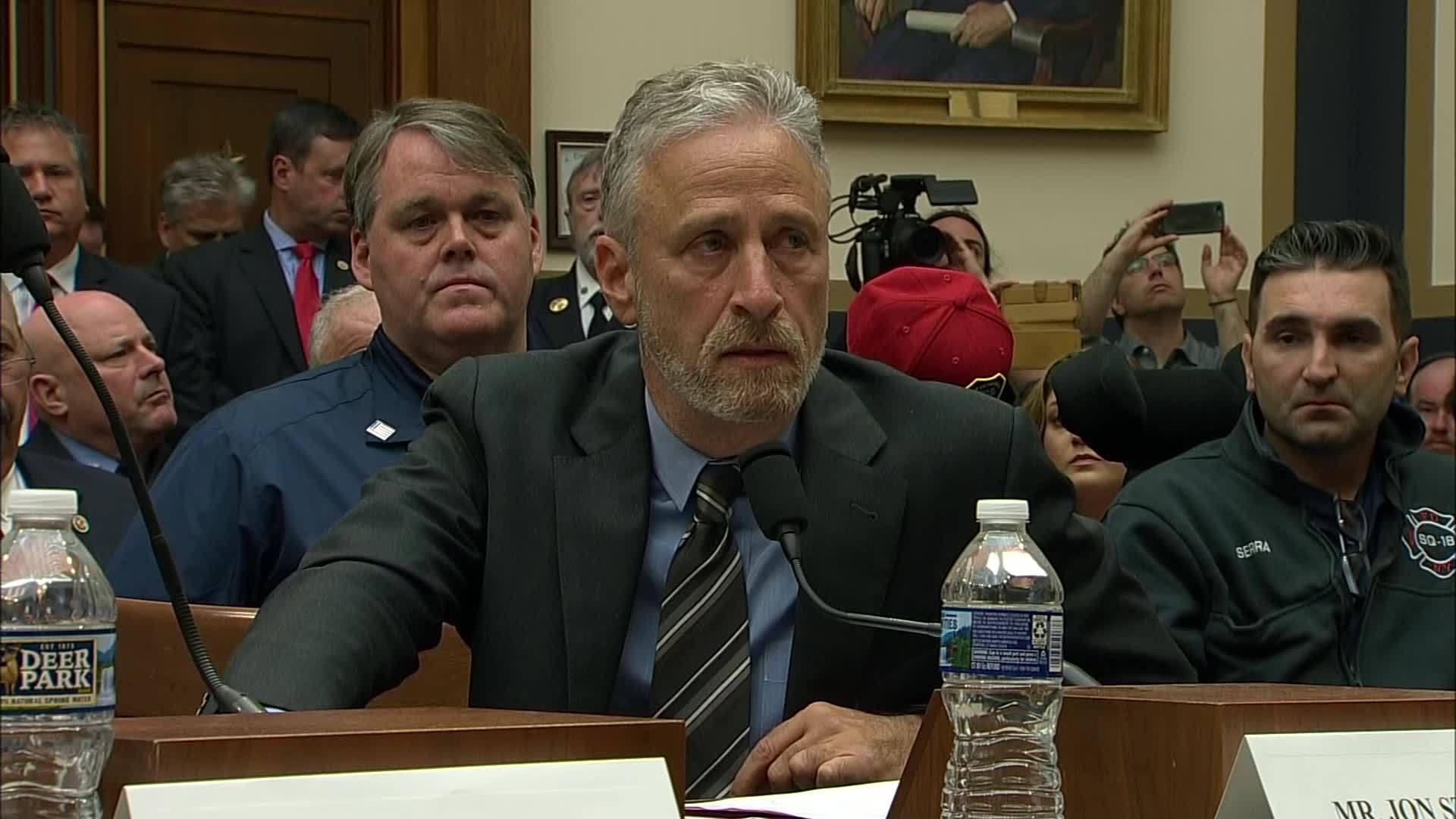 Jon Stewart testifies at 9/11 Victim Funds hearing