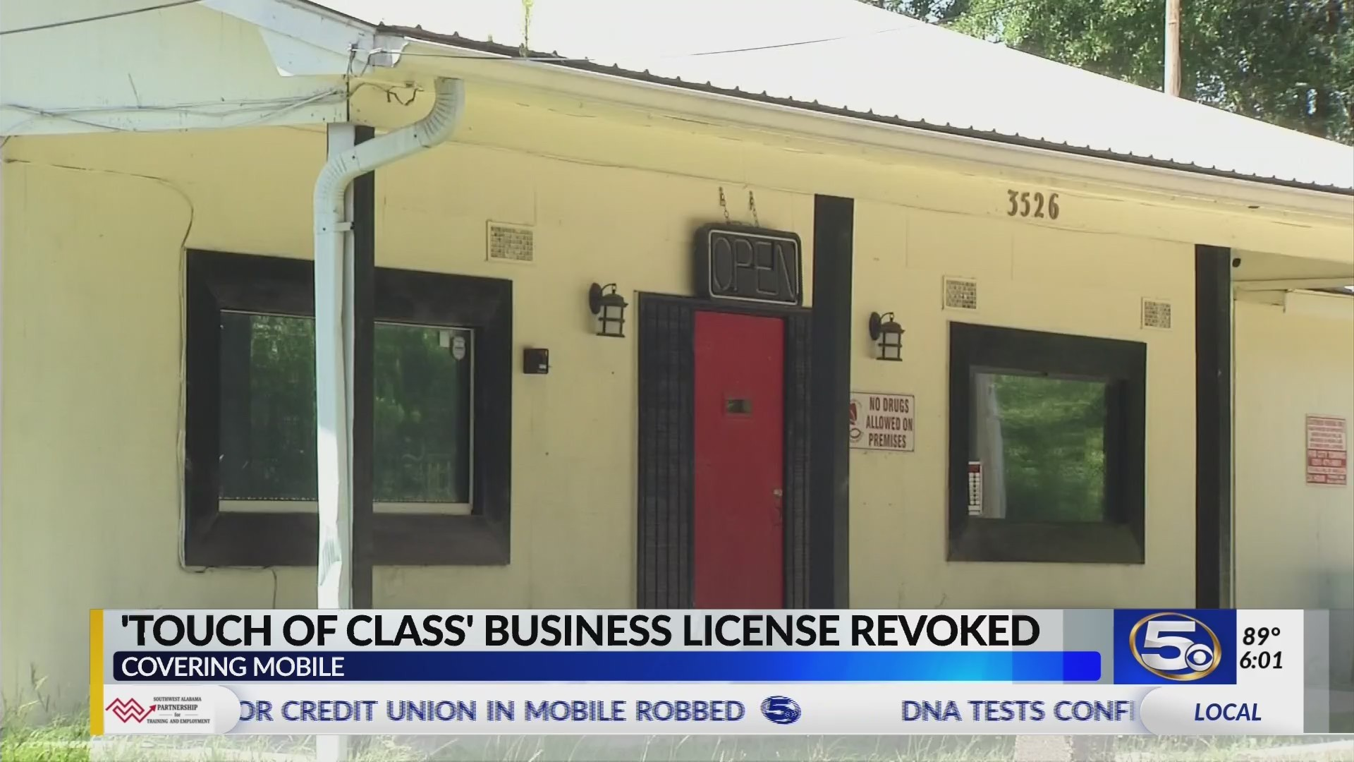 Mobile City Council revokes license of business operating as illegal strip club