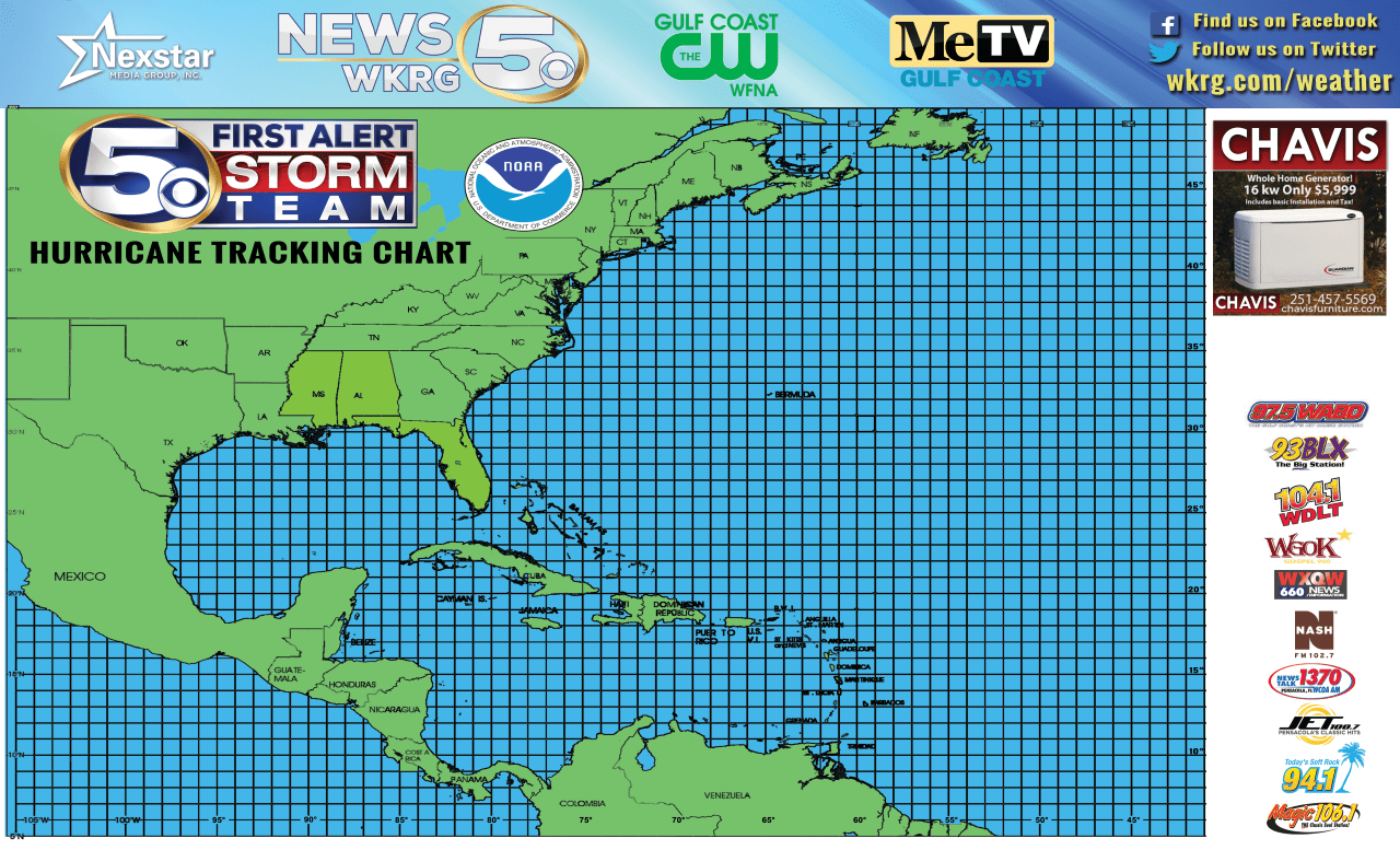 image about Printable Hurricane Tracking Maps called Print your totally free Initial Inform Storm Workers Hurricane Tracker Map