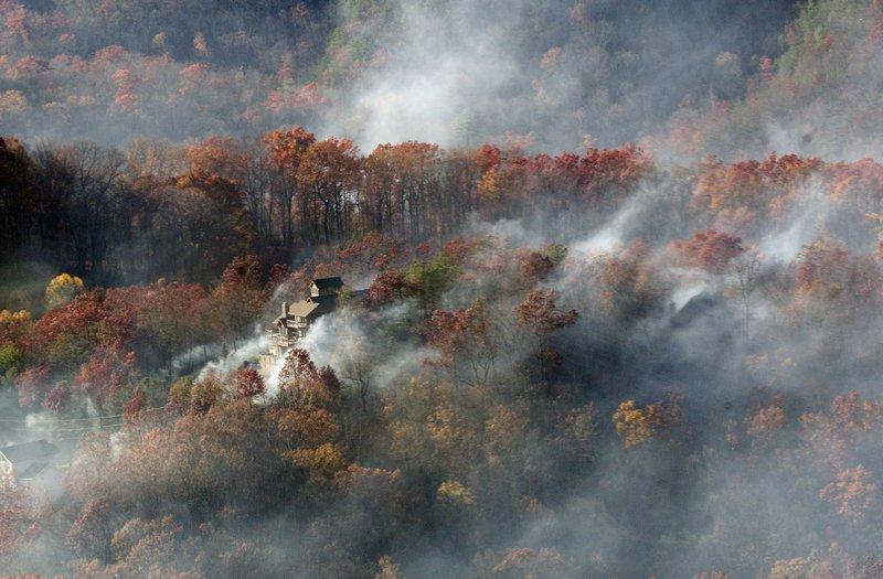 Interactive map of Gatlinburg wildfire shows status of ...
