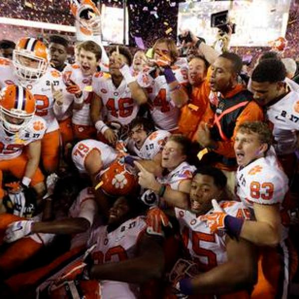 Playoff Championship Clemson Alabama Football_352503