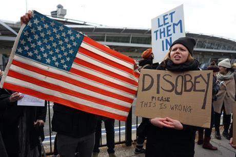 Trump travel ban protest_359205