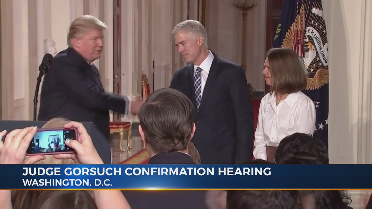 Neil Gorsuch expected to start hearing process for SCOTUS