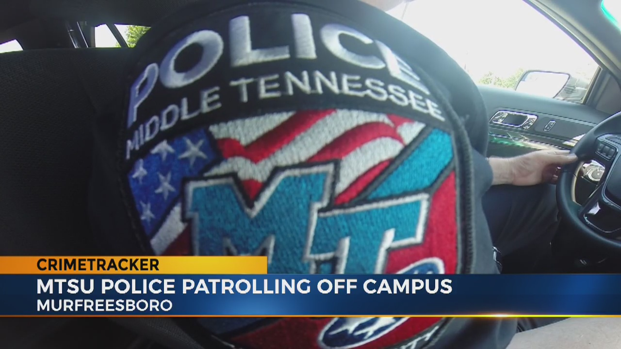 MTSU police to soon patrol more than just campus